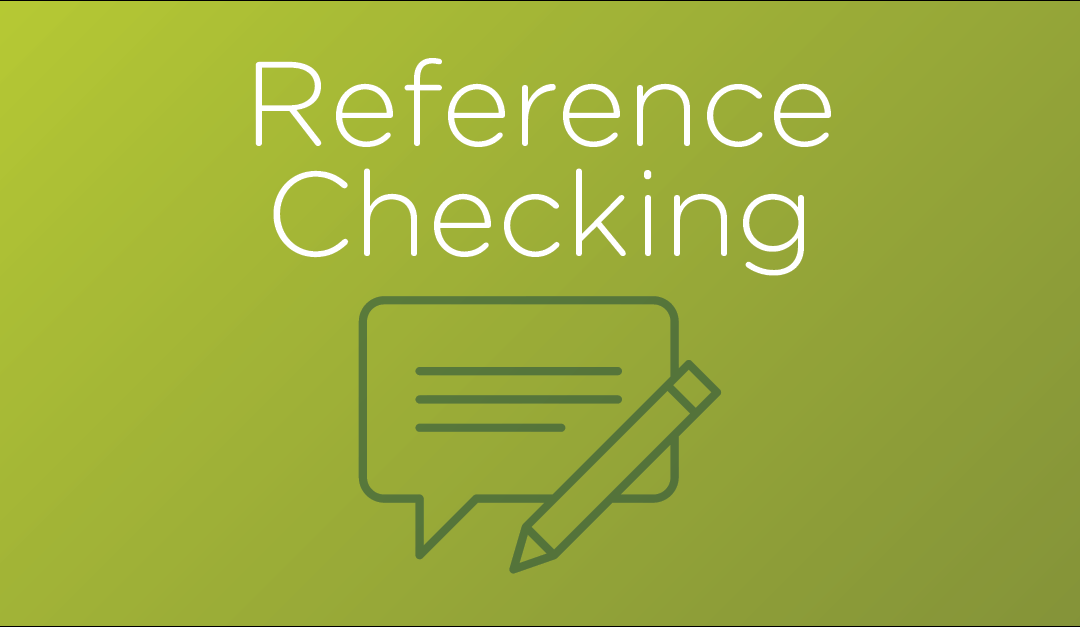 How to Ask Better Reference Check Questions