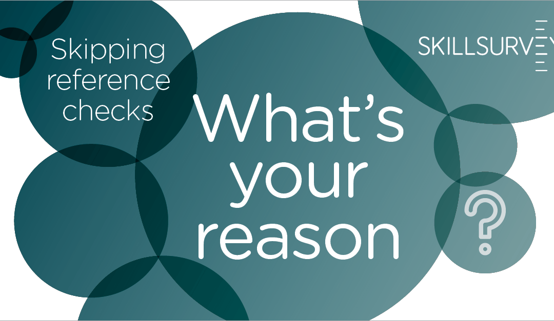Debunking Some of the Myths of Reference Checking