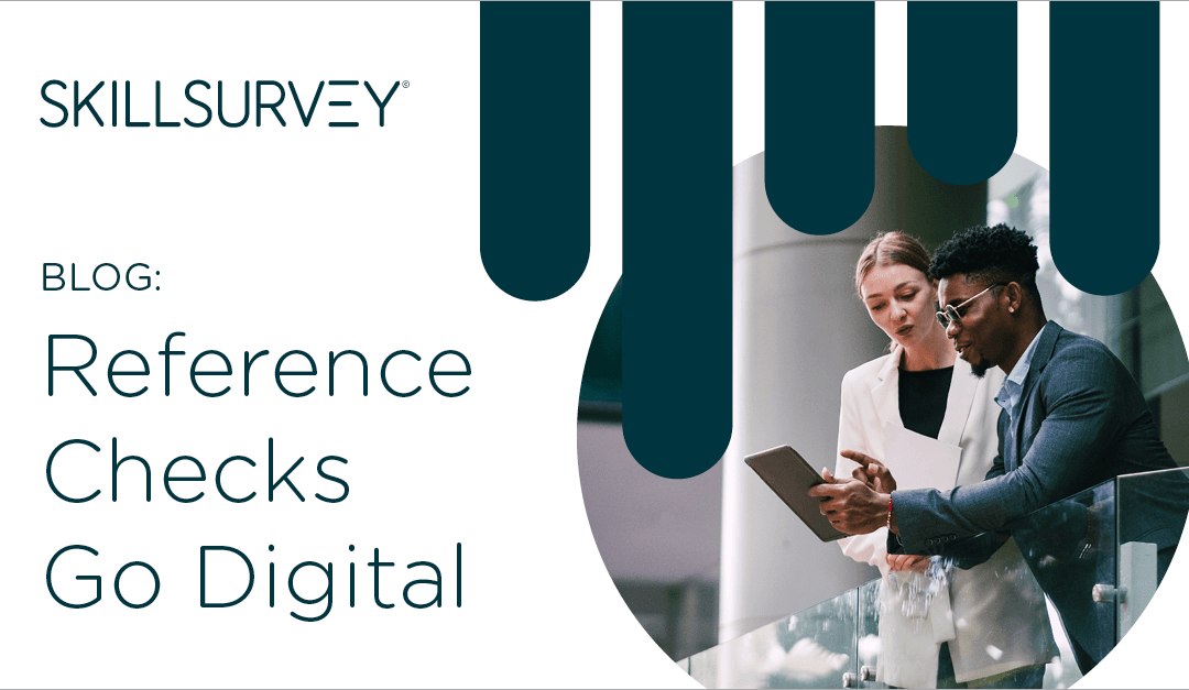 Comparing reference checking technology to using a reference checking service